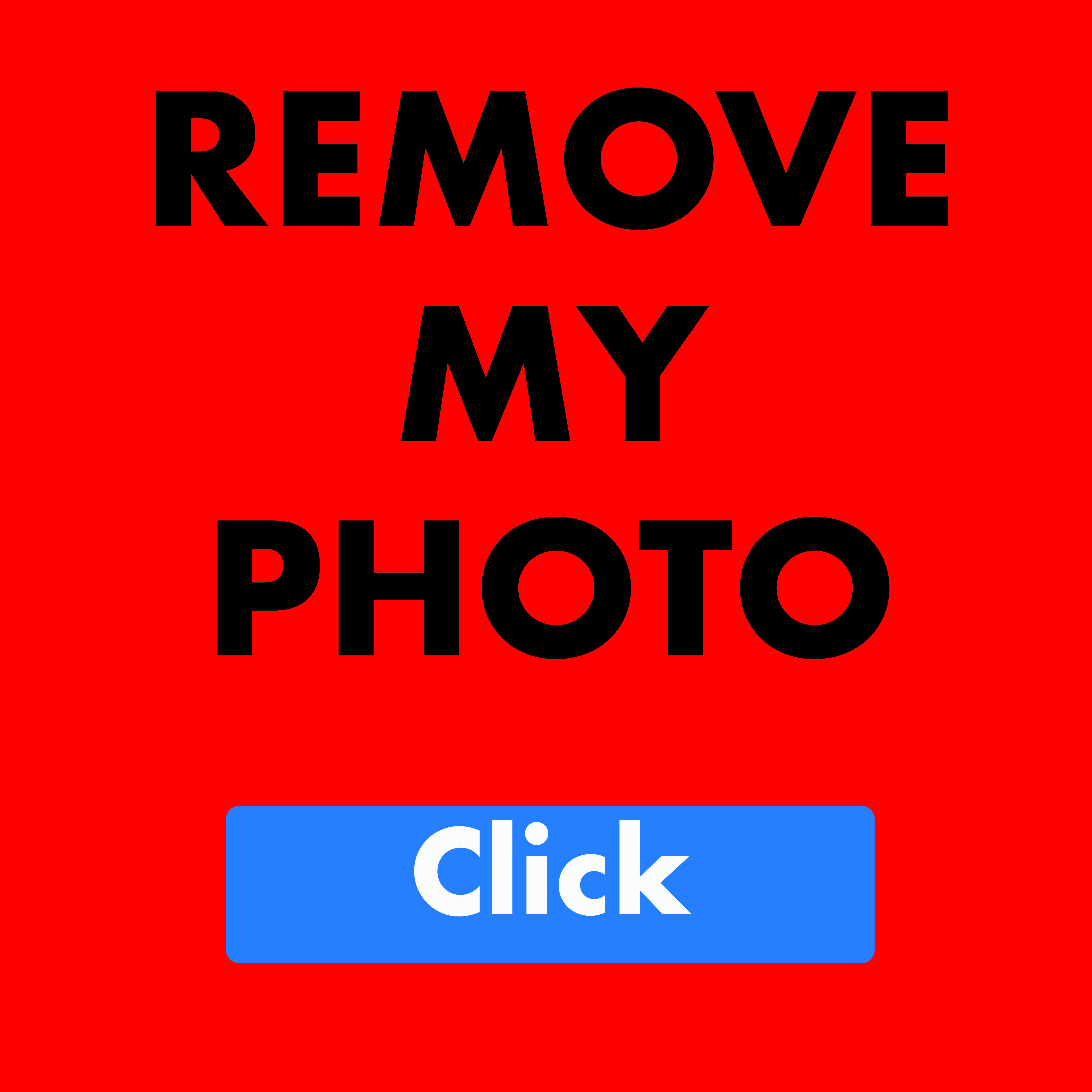 Remove My Photo